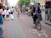 自転車、るるるん。