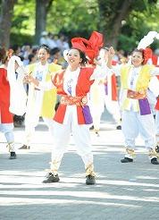 この夏は表参道のまんなかで踊ろう 2013 ~地元チームと一緒によさこい体験会~