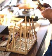 みんなの図工室14 ~伝統の技に学ぶ 竹の角物トレーづくり~