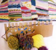 今日中に編み上げたい! ~ふんわり、カラフル・ブランケット〜