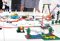みんなで防災について考えよう! レゴ・シリアスプレイ™ワークショップ