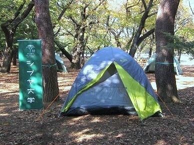 代々木公園に泊まろう! シブヤキャンプ2014 〜首都直下型地震が起きた夜をイメージして過ごす〜
